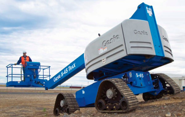 Genie blue telescopic lift