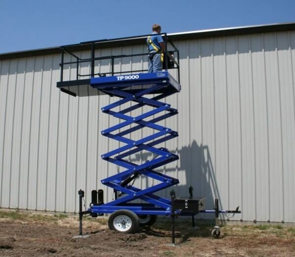 Terrain scissor lift