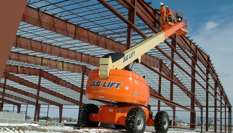 btjlg telescopic boom header