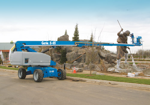 genie telescopic boom lift