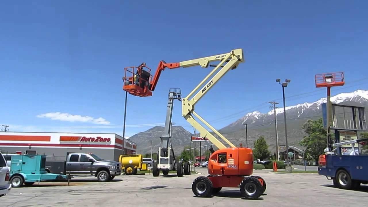 Manlift Articulating Boom Lift