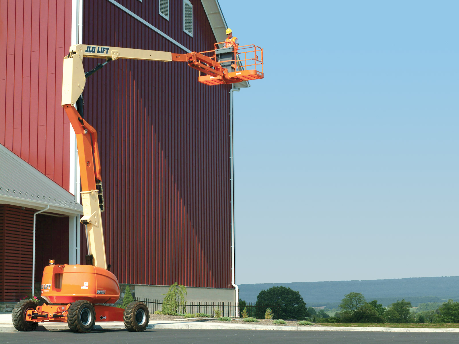 600 series Articulating Boom Lift