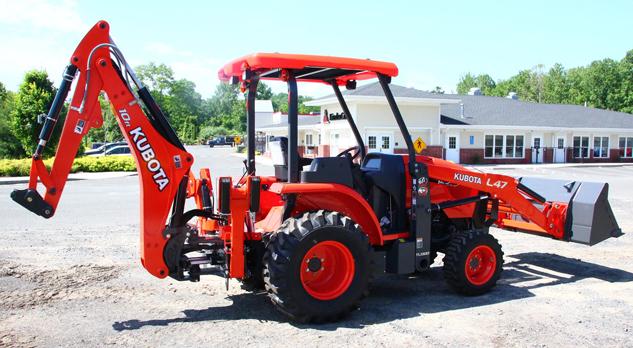 Kubota L47TLB tractor
