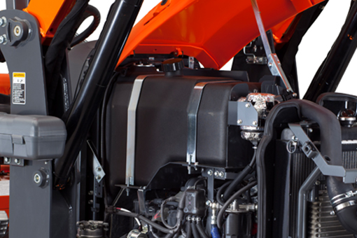 Kubota M62TLB Tractor Engine